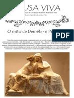 O mito de Deméter