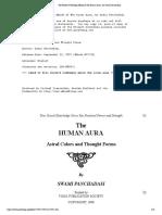 The Human Aura by Swami Panchadasi