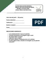 Instrumento Evaluacion Sociales y Cívica Setimo a Octavo