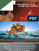Biblia Facil Apocalipsis Leccion 10 Una Bestia que Sube del Mar