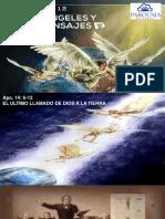 Biblia Facil Apocalipsis Leccion 12 Tres Angeles y sus Mensajes