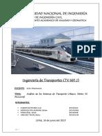 Ti Metro vs Monorriel Grupo 3