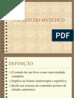 o Estudo Sintetico2