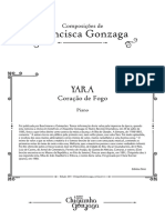 CHIQUINHA Yara Coracao-De-fogo Piano
