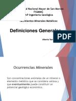 At YMM II Definiciones Generales 2018 II