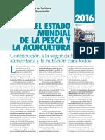 Folleto SOFIA 2016 Reporte de Pesca y Acuicultura