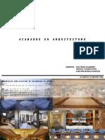 ACABADOS EN ARQUITECTURA - PISOS EXTERIORES - HOTELES
