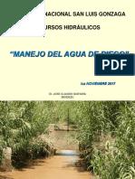 Manejo Del Agua de Riego