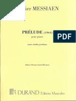 Prélude (1964) (Pour Piano)