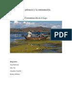 Los Polímeros y La Contaminación