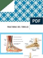 Fracturas del tobillo
