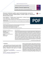 42- Extensive Feedwater Quality Control and Monitoring Concept for Preventing Chemistry-related Failures of Boiler Tubes in a Subcritical Thermal Power Plant