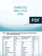 DT - DIABETES MELITUS.ppt