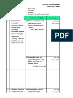 kisi-kisi UAS Ganjil Bahasa Arab 7