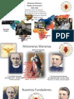 misioneras marianas Rumbo al centenario
