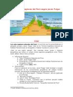 Las 8 Ecorregiones Del Perú Según Javier Pulgar Vidal