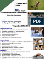 1- RETOS Y EXPECTATIVAS DE LA PREPARACIÓN FÍSICA CONDICIONAL.