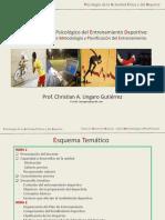 2.- El Control Psicologico Del Entrenamiento Deportivo