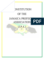 Revised Constitution of the Jamaica Prefects' Association II