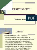 Derecho Civil Generalidades
