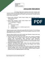 Analisis Regresi Dengan Spss