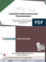 1.3. SIKRONISASI PERENCANAAN DAN   PENGANGGARAN_Deputi Pendanaan_221117_Final.pdf