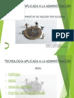 tecnologia aplicada a la administracion