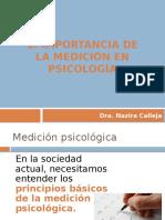 01.La Medición en Psicología