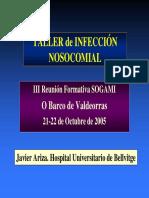Taller de infección nosocomial