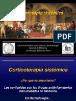 Corticoterapia sistemica 2018
