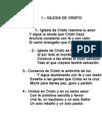 001.- Iglesia de Cristo