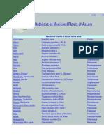 Medicinal Plants in Assam
