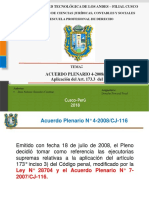Acuerdo Plenario 4-2008