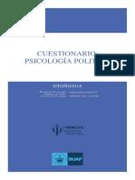 Cuestionario Psicología Politica