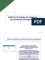 Softwares de Trabajo Con Alumnos Que Presentan ad
