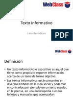 CLASE 5 Textoinformativo