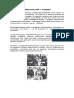Clases Sociales en El Porfiriato