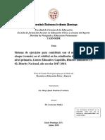 Sistema de Ejercicios Para Contribuir Con El Mejoramiento Del Ataque (Remate) en El Voleibol
