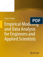 Empirical Modeling and Data Analysis for Engineers and Applied Scientists - Scott a. Pardo (Springer, 2016)