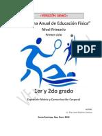 Programa de Educacion Fisica 1ero y 2do - VERSIÓN DEMO.