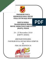 Kertas Kerja Lawatan MAPS