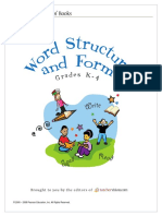 Word structures and forms K4