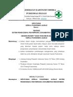 SK pelayanan rekam medis ttg pengkodean, penyimpanan dan dokumentasi RM.doc