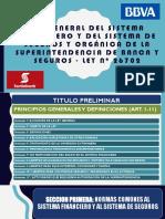 Ley General Del Sistema Financiero y Del Sistema financiero
