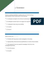 Gcp Quality Assurance