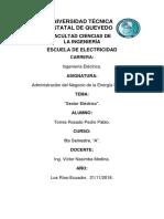 Siglas Del Sector Electrico Ecuatoriano