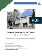 GUIA_Potencial de Licuación Del Terreno (Guia de Diseño)