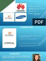 Nutrisa vs Loreal y Huawei vs Samsung PROPIEDAD INTELECTUAL