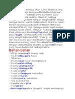 Scribd Resep Rendang