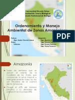 Ordenamiento y Manejo Ambiental de Zonas Amazónicas
